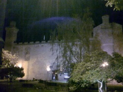 Parador de Olite de noche